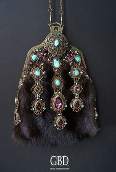 Guzel Bakeeva Design Меховая сумочка