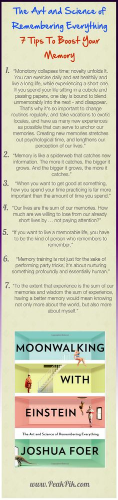 How to Improve Memory? The Art and Science of Remembering Everything