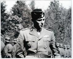 Peiper, my favorite ss officer German Soldiers Ww2, German Army, Joachim Peiper, The Third Reich, Portraits, Black Love, World War Ii, Wwii, Germany