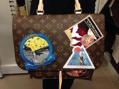 Cindy Sherman Camera Messenger bag