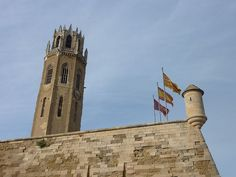 Lleida, campanar de la Seo Antiga.