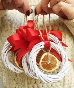 Set of 5 Christmas ornaments  Christmas decoration от pinetreeshop