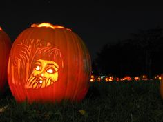 The idea of the Jack O'Lantern and pumpkin carving is derived from Irish folklore