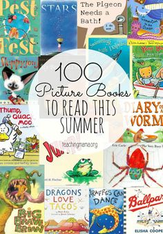 100 Picture Books to Read This Summer - I love these books!