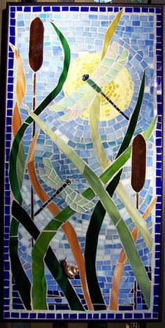 dragonfly,garden,marsh,coast,florida,mosaic,stained glass,insect