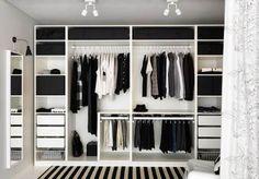 Trendy Open Closet Storage Ideas Walk In Walk In Closet Design, Bedroom Closet Design, Master Bedroom Closet, Closet Designs, Bedroom Storage, Diy Bedroom, Bedroom Ideas, Mirror Bedroom, Master Bedrooms