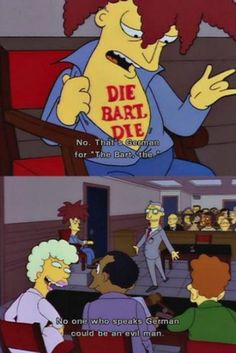 One of my favorite Simpsons moments.