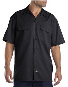 Flex Relaxed Fit Short Sleeve Twill Work Shirt | Dickies
