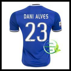 Fotballdrakter Juventus DANI ALVES #23 Bortedraktsett 2016-2017