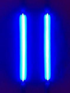 Blue neon lights. blue, bleu, azul