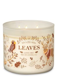 Bath & Body Works just released its fall 2019 candle collection. The candles come in a variety of autumnal scents, including pumpkin, apple, and snickerdoodle. Bath Candles, 3 Wick Candles, Scented Candles, Candle Jars, Homemade Candles, Candle Holders, Fall Scents, Luxury Candles, Bath And Bodyworks