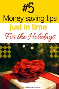 How Can I save money? We all want to know. Int this post 5 money saving tips just in time for the holidays. Lord knows I needed this post. I've spent more than I should have in the summer time I checked my credit cards and couldn't believe it. Some purchases I don't even remember making so this post was helpful for me to start getting serious about my money goals again. Read this today if you need help getting on track…