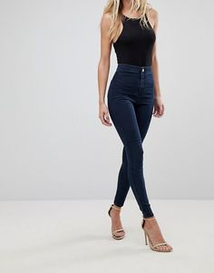 253e0ee8cfa43 15 Best High waist jeggings images in 2019   Casual outfits, Casual ...