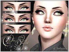 Pralinesims' Cat Style Eyeliner