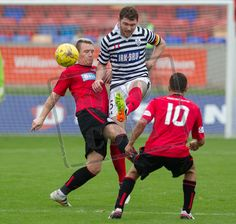 Queen's Park's Ryan McGeever in action during the Ladbrokes League One game between Brechin City and Queen's Park.