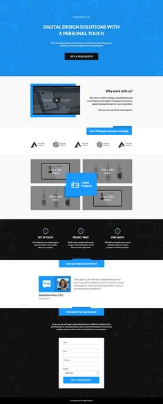 This template was built for those with an eye for the beautiful things in life. Design so fine, you'll be sure to get the edge over your competitors.  #landingpages #landingpagetemplates #templates #advertising