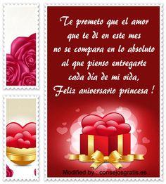 descargar mensajes bonitos de aniversario de novios,frases bonitas de aniversario de novios : http://www.consejosgratis.es/frases-para-festejar-el-primer-mes-de-novios/
