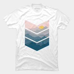 #hiker,arrow,mountain,#sunrise, #sunset, #creative, tee,#t-shirt, #tshirt, interesting,#designbyhumans,#hiking
