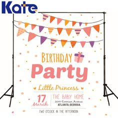 Aliexpress.com : Buy kate Photographic background Birthday party, baby bunting dot date gift fabric photocallbackdrops newborn princess 8 x 8 ft from Reliable background birthday suppliers on Marry wang