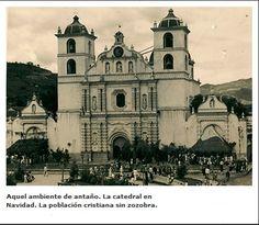 AQUELLOS VIEJOS TIEMPOS... La Catedral en navidad.http://www.latribuna.hn/2013/05/25/aquellos-viejos-tiempos/