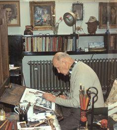 Zdeněk Burian v roce 1980. | na serveru Lidovky.cz | aktuální zprávy