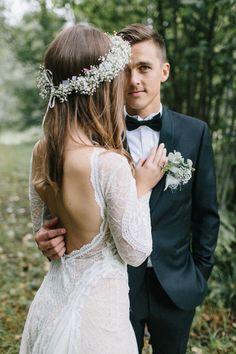 Romantic Natural Norwegian Wedding in Oslo | Image by Kristina Malmqvist