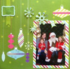 Santa scrapbook page take 2