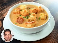 The beer cheese soup from Green Bay Packers quarterback Aaron Rodgers' restaurant