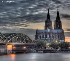 Cologne.  This can't be real! So beautiful...
