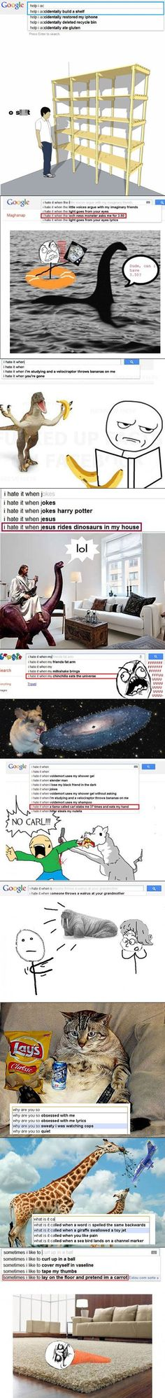 10 Really Bizarre Google Search Suggestions Get Illustrated [Pic] | Geeks are Sexy Technology News