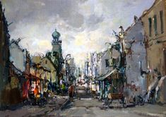 christiaan nice South African Artists, Artist Gallery, Old Master, Love Art, Nice, Art Forms, Cityscapes, Buildings, Paintings