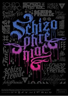 typographic festival posters - Google Search