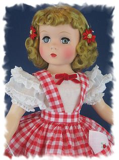 "Unbelievably Gorgeous C Early 1950's 17"" Blonde Maggie Walker 