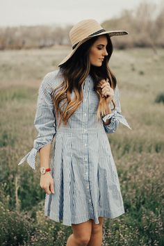 Get this look: http://lb.nu/look/8689527  More looks by Madison Silotti: http://lb.nu/user/6147411-Madison-Silotti  Items in this look:  Style We Blue & White Striped Dress   #casual #chic #classic