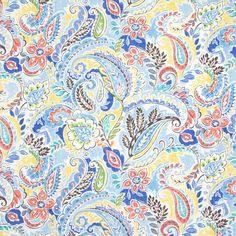 Kids Patterns, Print Patterns, Paisley Wallpaper, Greenhouse Fabrics, Basement Furniture, Colorful Chairs, Sandbox, Chair Fabric, Paisley Pattern
