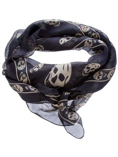 ALEXANDER MCQUEEN SCARF...  Most perfect, versatile, somewhat-edgy scarf ever!!! <3