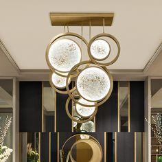 Exclusive Italian Designer Suspended Ceiling Light