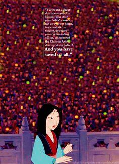 Mulan might be my favorite Disney movie now.