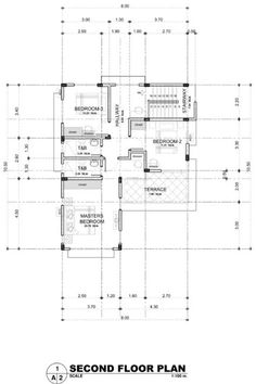 Real Estate Davao Two Brand New Unfurnished House Model Two Storey House Plans, 3d House Plans, Modern House Floor Plans, Best House Plans, Dream House Plans, Two Story House Design, 2 Storey House Design, Small House Design, Philippines House Design
