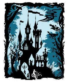Richard Merritt  Fairy Tale castle