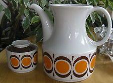 Kaffeekanne und Zuckerdose / Deckel Design 70er Jahre Winterling Porzellan