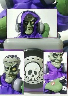 A MUST SEE HALLOWEEN PROP SUPER RARE 2007 Magic Power a Mattel Company DJ Music Playing Dancing Addams Family Frankenstein Monster DJ Box, the coolest Halloween prop on your block check him out at iBidBuyShip.com with FREE PRIORITY SHIPPING!