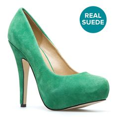 I've discovered shoedazzle. This will not end well. This pump comes in every color I want.