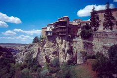 Among the most famous of all cliff houses are the hanging houses of Cuenca in Spain. This ancient village found itself with a need to expand in the 18th Century. Instead of building out, they built up. The resulting buildings look like they will topple down into the ravine any day, but they are apparently quite stable. These clifftop homes are now a tourist attraction for the town.