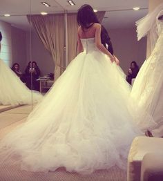 I'm already sold on the wedding dress I want, but I couldn't pass over this dress... I absolutely LOVE this!!!