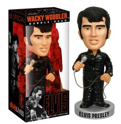 Elvis 68 – Black Suit Wacky Wobbler http://popvinyl.net #funko #funkopop #popvinyl