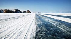 Ile d'Olkhon Lac Baïkal gelé #travel #voyage #baikal #lac #russie #siberie #hiver
