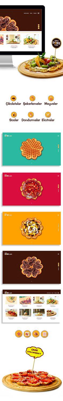 Choco Bons Waffle Web Design on Behance