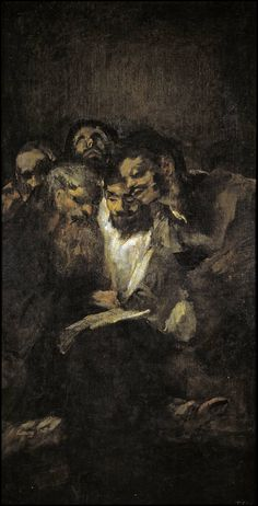 """""""La lectura"""", Goya (1820-1823)"""