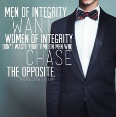 Godly men want godly women. Stop wasting your time on men who chase the opposite.